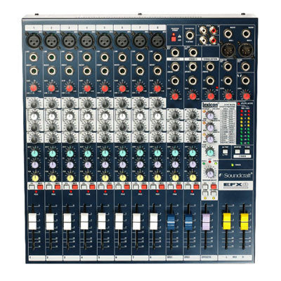 Soundcraft EFX8 Mixing Desk Top
