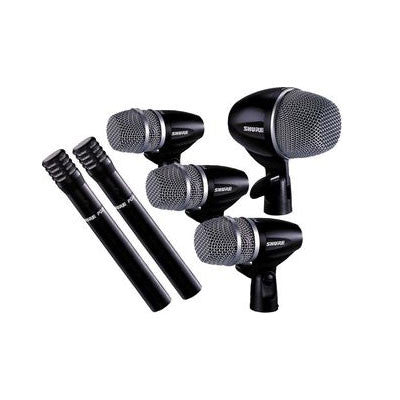 Shure PG Drum Microphone Kit Contents