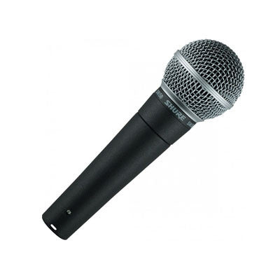 Shure SM58 Cabled Microphone Front