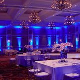LED Uplight Effect Wedding Venue Room 2