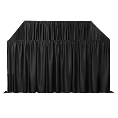 Black Curtain Room Front