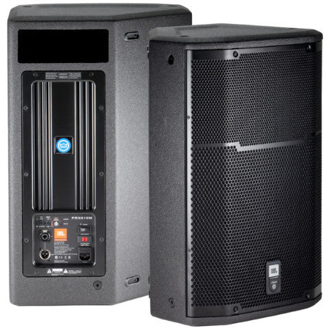 JBL PRX-615-M Powered Loudspeaker Front Rear