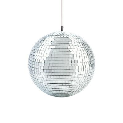 "Mirror Ball 12"" / 20cm with Motor Front"