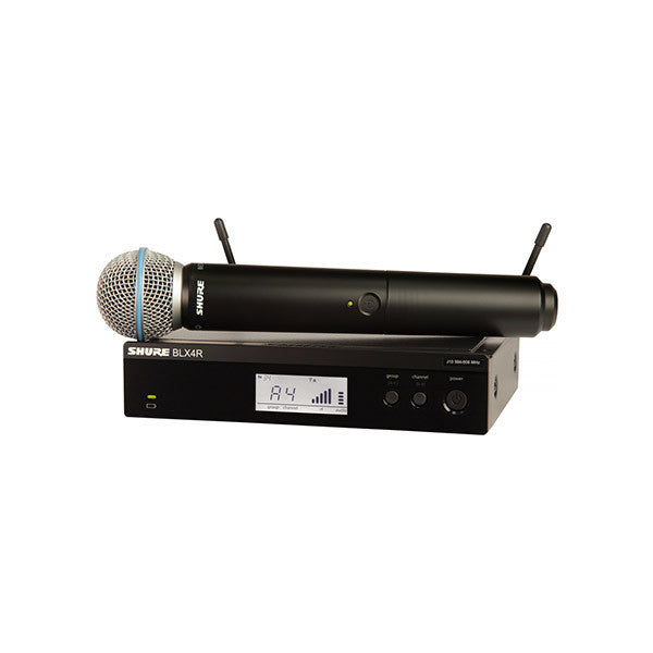Shure BLX-24R BETA58 Handheld Wireless Microphone Front Small