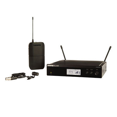 Shure BLX WL185 Headworn Wireless System Front