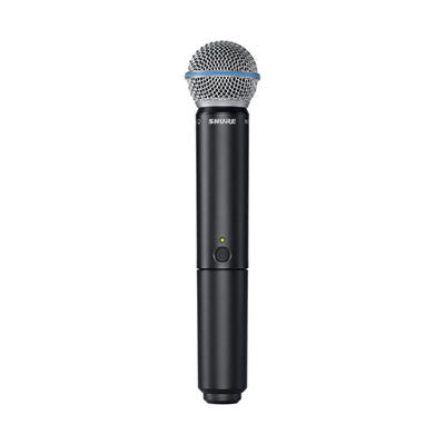 Shure BETA58A Handheld Wireless Microphone Front