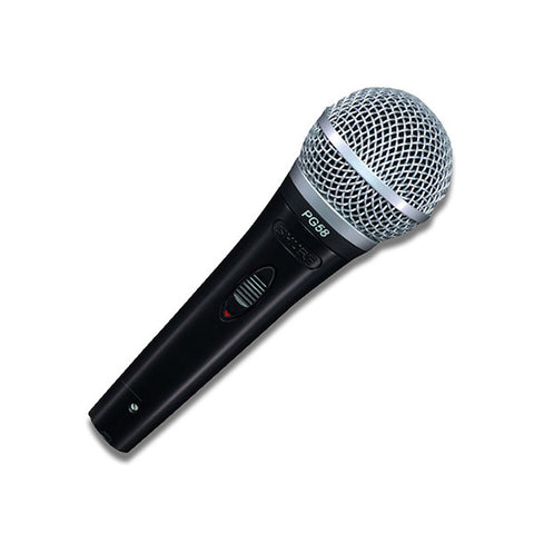 Shure PG58 Cabled Microphone Front
