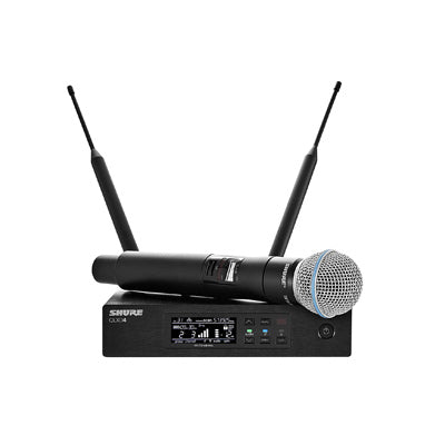 Shure QLXD BETA58A Wireless Handheld Microphone Front