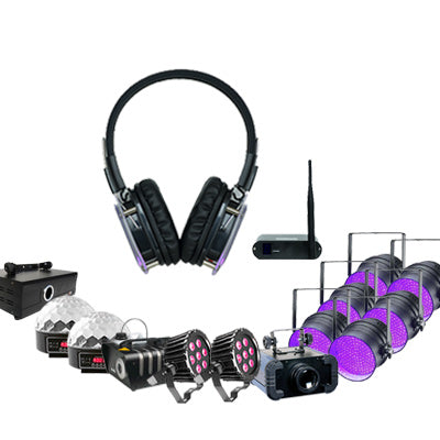 Silent Disco Event Pack Front