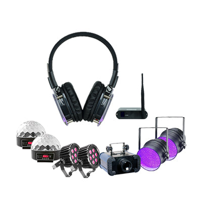 Silent Disco Lounge Party Pack