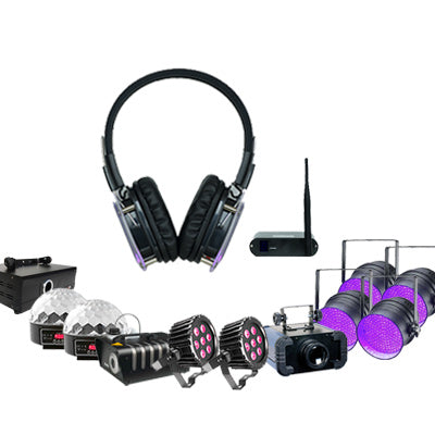 Silent Disco Party Pack Front