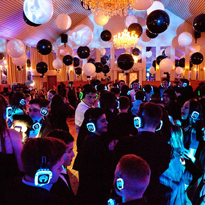 Silent Disco Party Front