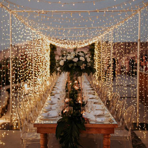 Wedding Fairy Lighting Canopy Example 3