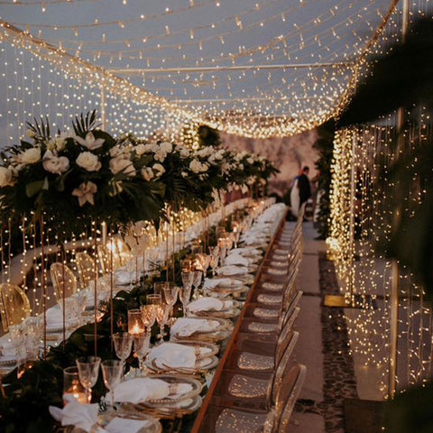 Wedding Fairy Lighting Canopy Example 5