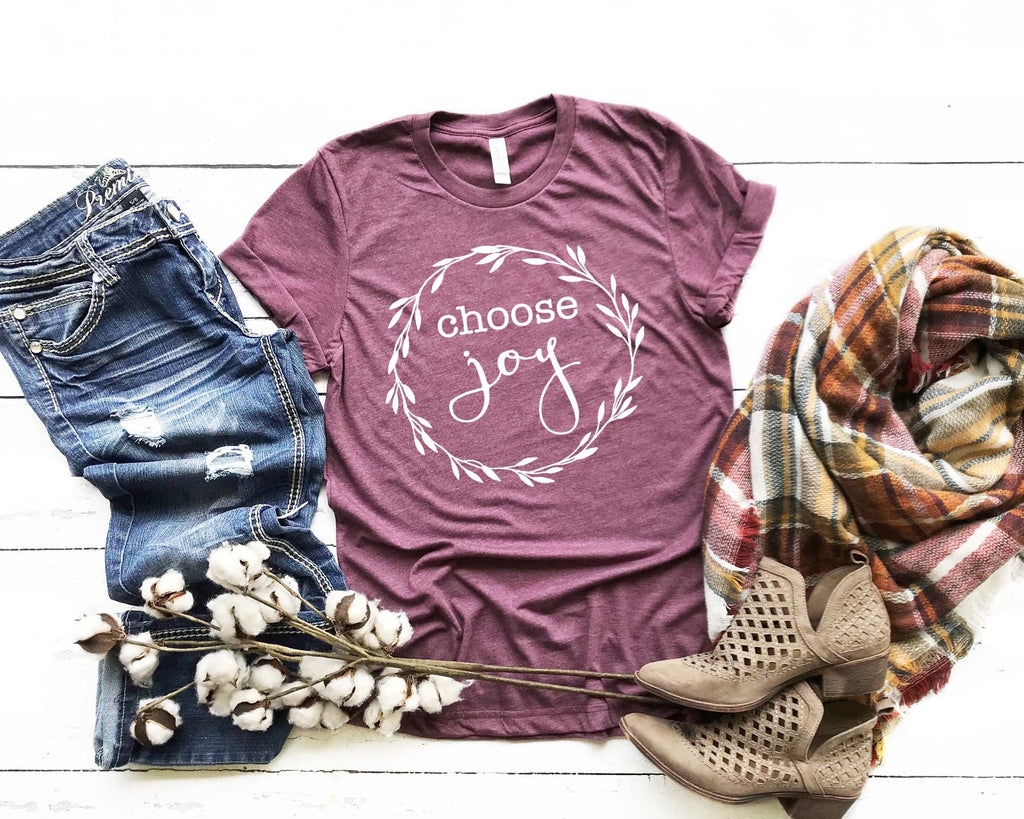 Choose Joy Shirt, Christian Shirt, Faith Shirt, Scripture Shirt,