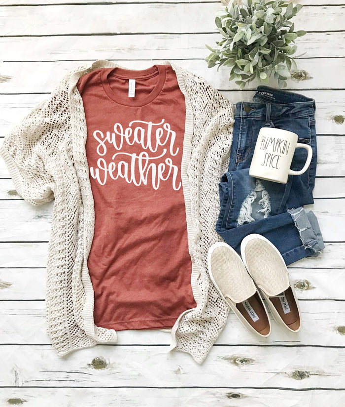 Fall Pumpkin Shirt, Sweater Weather Fall Shirts, Women's Shirts, Fall Sweet Fall, Fall Shirts For Women, Pumpkin Vintage