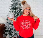 Christmas Sweatshirt, Merry Christmas Sweater, Ladies Shirt, Christmas Clothing, Holiday Sweatshirt, Women's Shirt Christmas