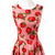 Gorgeous Sleeveless Strawberry Print Pink Large Swing Dress