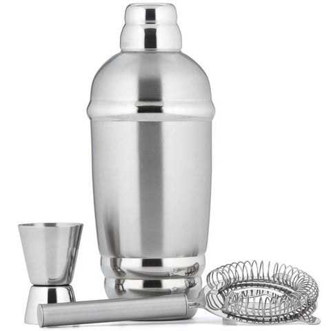 Tuscany Shaker w/ Strainer and Jigger