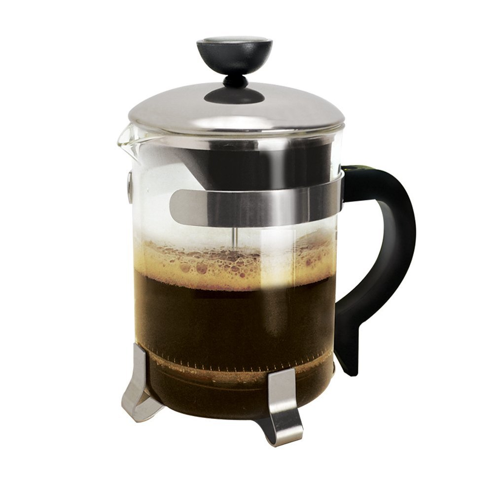4 Cup Coffee Press Chrome