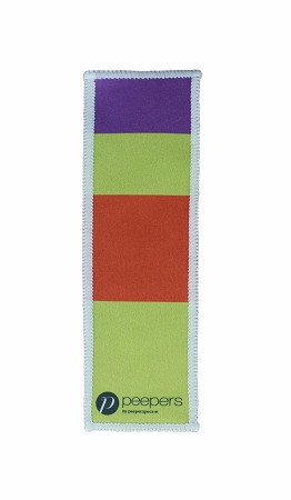 Bookmark Cleaning Cloth Purple