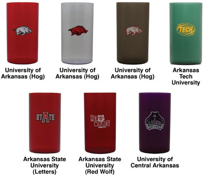 11 oz Tumbler U of A Hog Clear