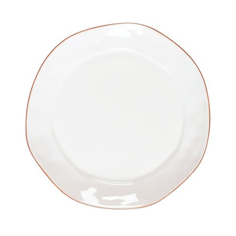 Cantaria Dinner Plate - White