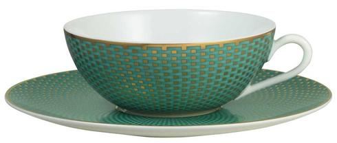 Tressor Turquoise Tea Cup/Saucer