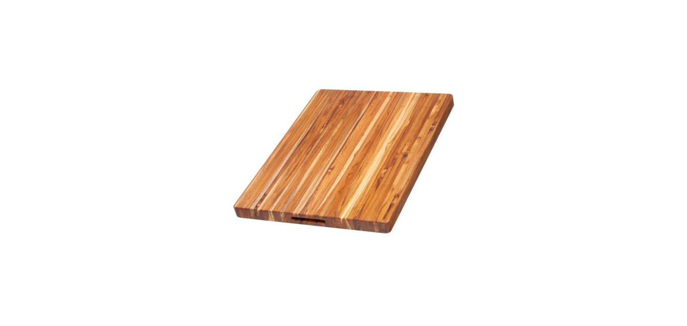 Rectangle Cutting Board with Hand Grips