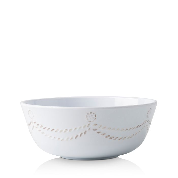 Berry & Thread Melamine Cereal Bowl Whitewash