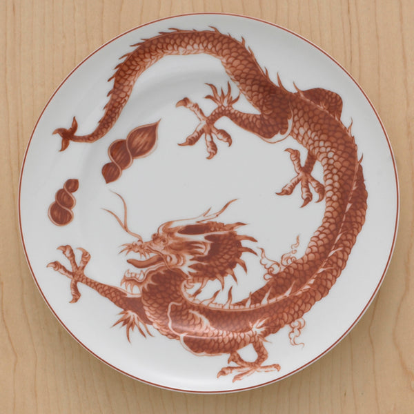 Red Dragon Bread & Butter Plate