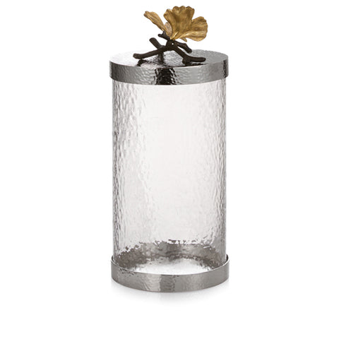 Butterfly Ginkgo Canister