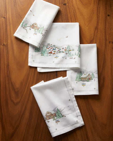 Berry &Thread North Pole Napkin