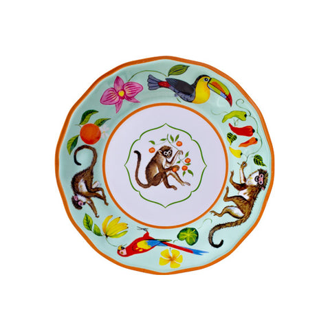 Monkey Business Dinner Plate