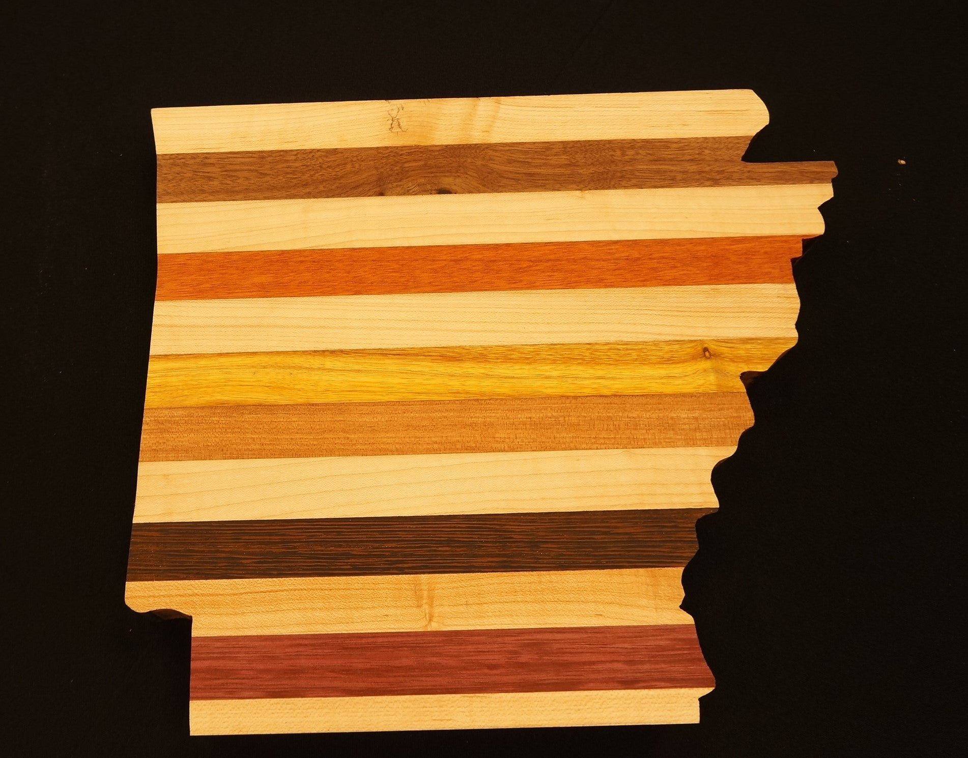 Arkansas Stripe Cutting Board XLarge