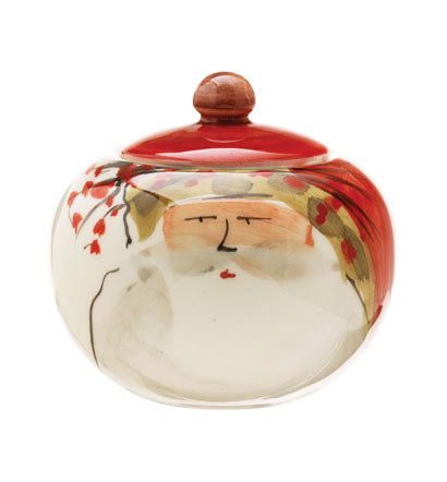 Old St. Nick Sugar Dish