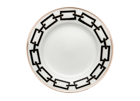 Catene Bread & Butter Plate Black