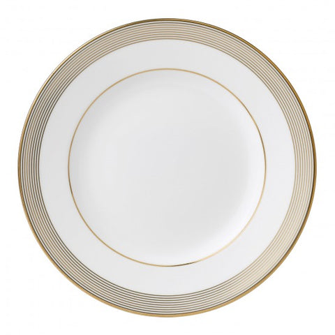 Golden Grosgrain salad Plate
