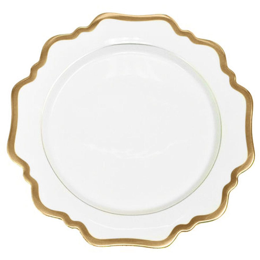 Antique Gold Rim Dinner