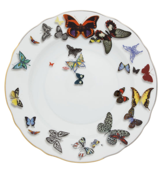 Butterfly Soup Plate