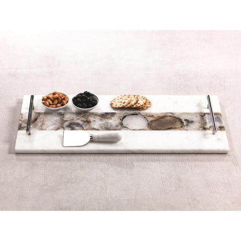 Tomar Marble and Agate Cheese Tray