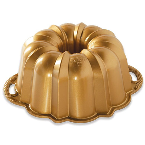 Anniversary Bundt Pan 12cup Gold