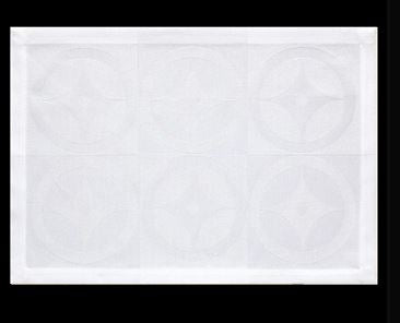 LJF Double Jeu White Placemats