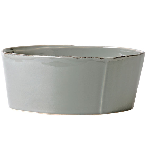 Lastra Gray Serving Bowl Large