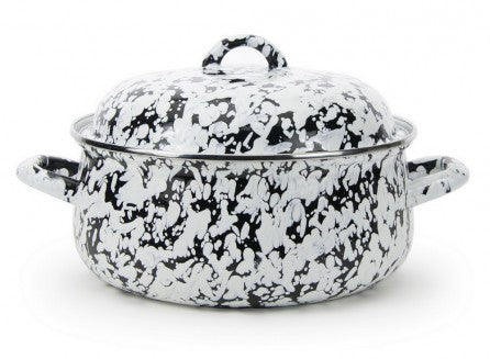 Dutch Oven Black Swirl