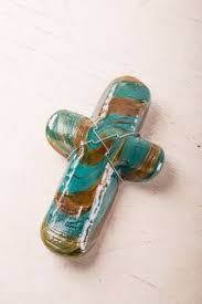 James Hayes Paperweight Cross Small