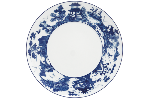 Blue Canton Service Plate