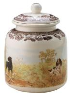 Woodland Dog Treat Canister