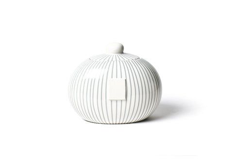 Stone Skinny Stripe Mini Cookie Jar