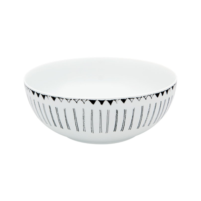 Nero Salad Bowl